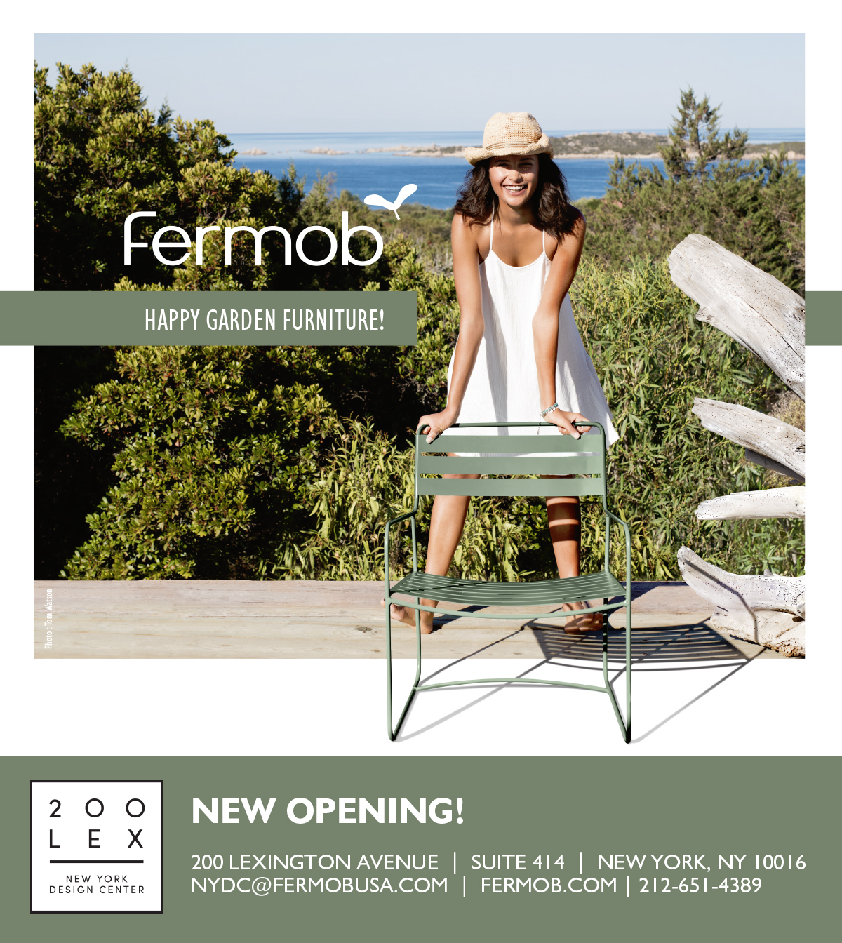 Fermob French Outdoor Furniture Opens Trade Showroom In New York